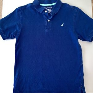 Nautica Short Sleeved Blue Polo